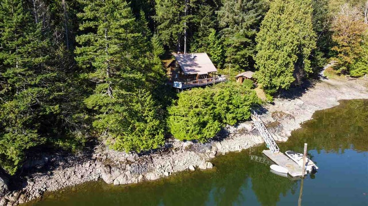 Lot 8 DAISY BAY ESTATES - Gambier Island House with Acreage for sale, 2 Bedrooms (R2503874)