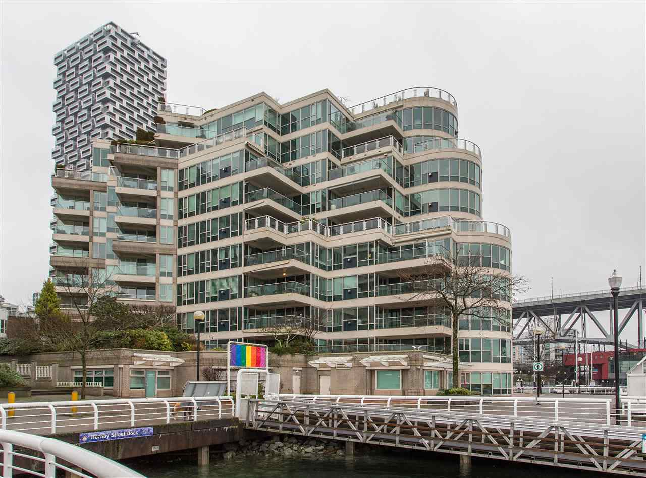 302 1600 HORNBY STREET - Yaletown Apartment/Condo for sale, 2 Bedrooms (R2503924) - #1