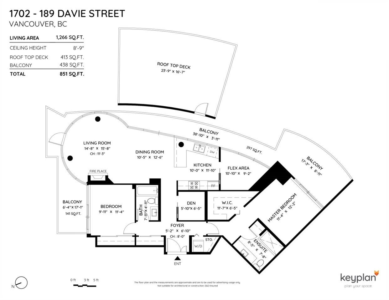1702 189 DAVIE STREET - Yaletown Apartment/Condo for sale, 2 Bedrooms (R2504054) - #38