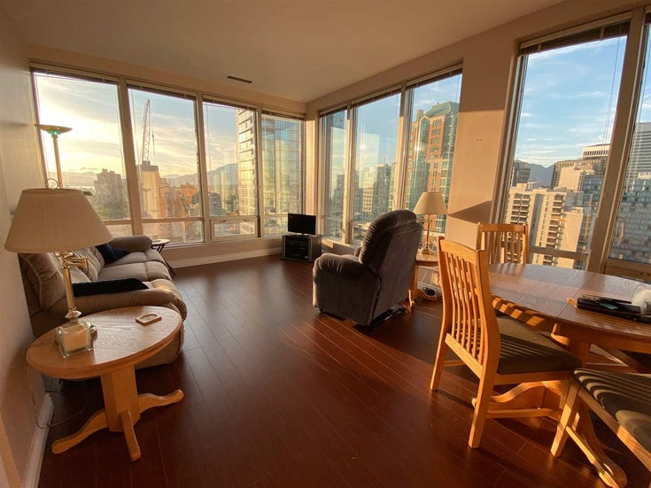 1307 989 NELSON STREET - Downtown VW Apartment/Condo for sale, 1 Bedroom (R2504218)