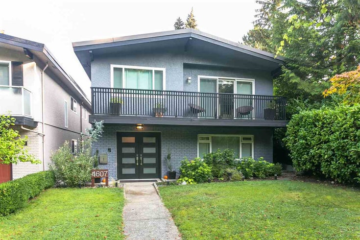 4607 W 16TH AVENUE - Point Grey House/Single Family for sale, 4 Bedrooms (R2504544)