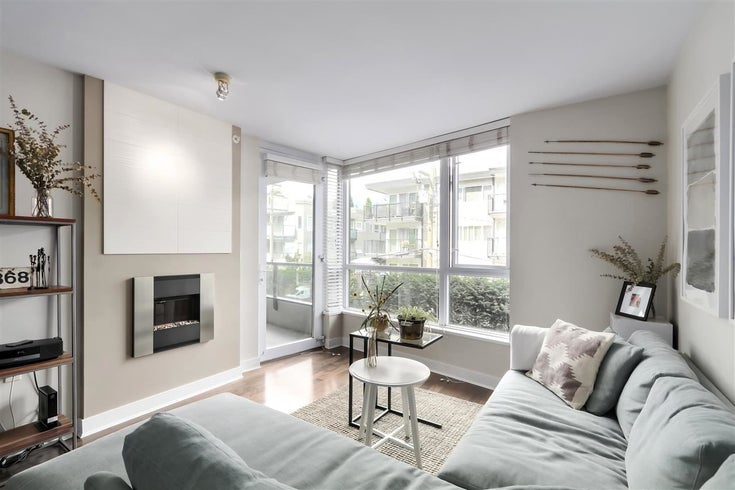 402 160 W 3RD STREET - Lower Lonsdale Apartment/Condo for sale, 1 Bedroom (R2504630)
