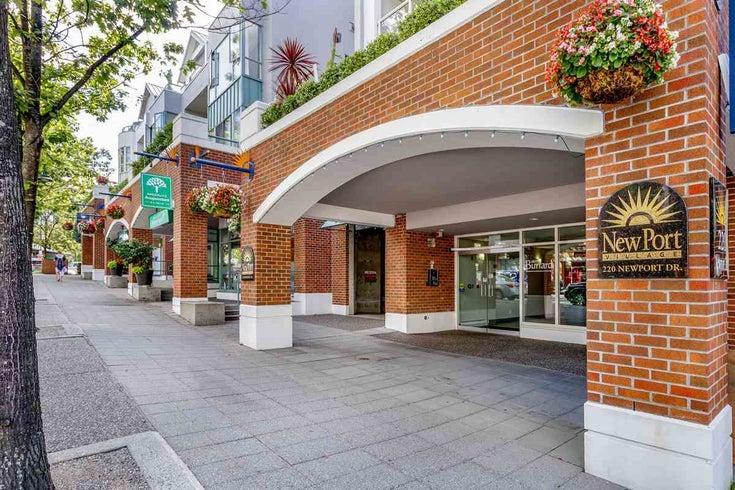 205 220 NEWPORT DRIVE - North Shore Pt Moody Apartment/Condo for sale, 2 Bedrooms (R2504654)