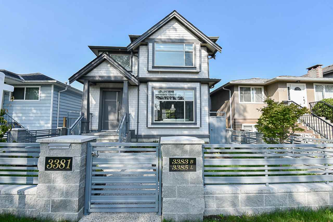 3381 E 23RD AVENUE - Renfrew Heights House/Single Family for sale, 9 Bedrooms (R2504867) - #1