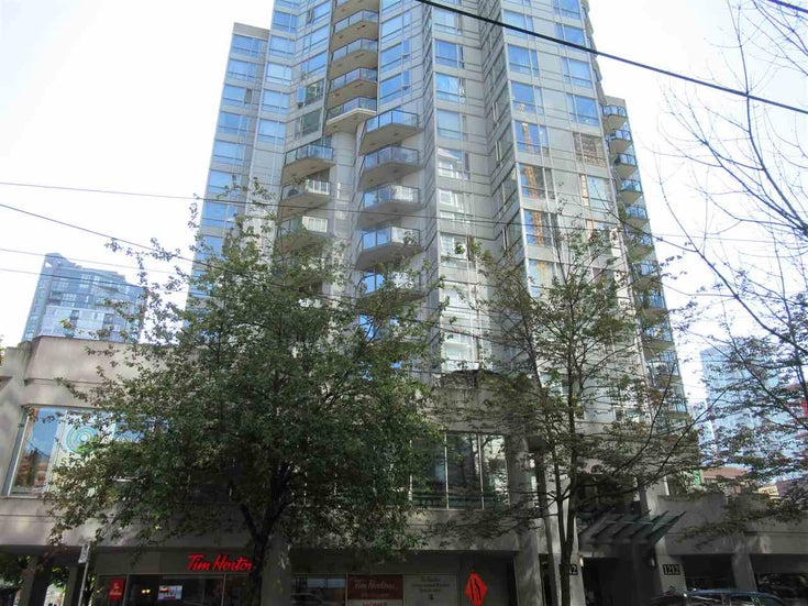 1406 1212 HOWE STREET - Downtown VW Apartment/Condo for sale, 1 Bedroom (R2504975)