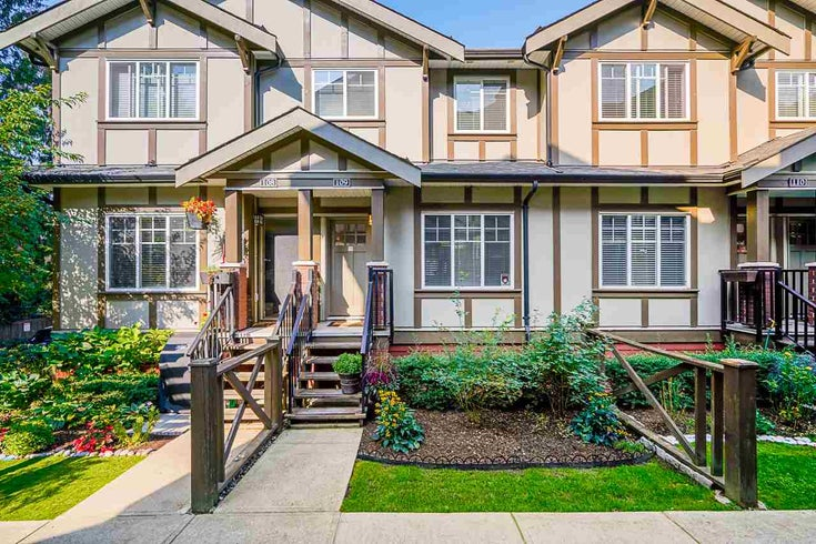 109 3333 DEWDNEY TRUNK ROAD - Port Moody Centre Townhouse for sale, 3 Bedrooms (R2505773)