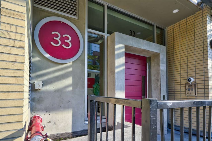 306 33 W PENDER STREET - Downtown VW Apartment/Condo for sale, 1 Bedroom (R2506004)