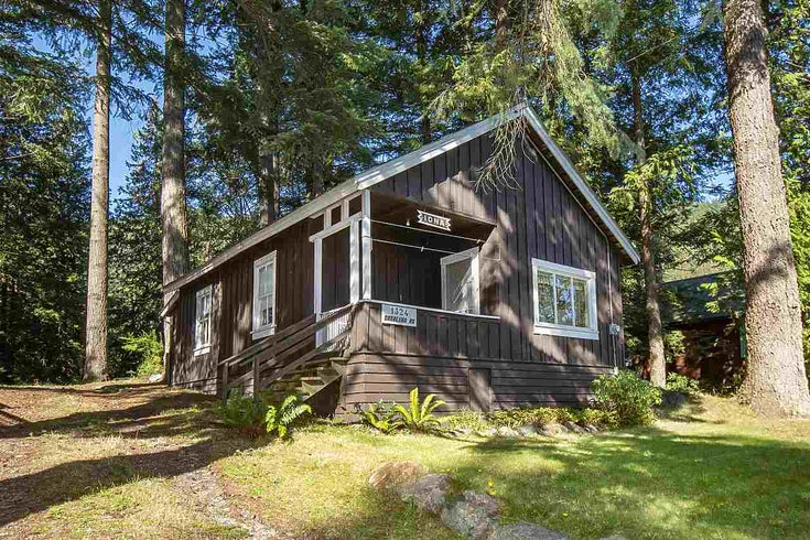1324 CATALINA ROAD - Bowen Island House/Single Family for sale, 2 Bedrooms (R2506061)