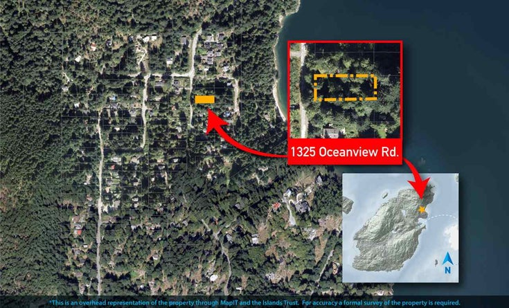 1325 OCEANVIEW ROAD - Bowen Island  for sale(R2506062)