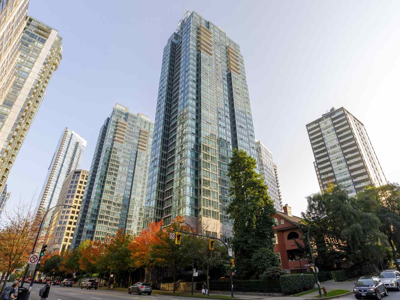 3201 1288 W GEORGIA STREET - West End VW Apartment/Condo for sale, 1 Bedroom (R2506068)