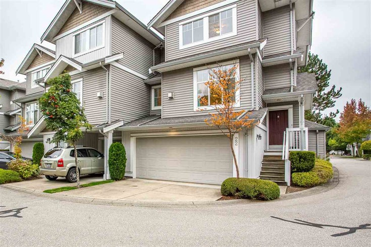 22 16760 61 AVENUE - Cloverdale BC Townhouse for sale, 3 Bedrooms (R2506091)