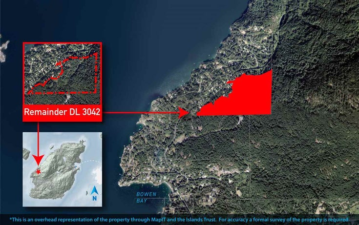 REMAINDER DL 3042 - Bowen Island for sale(R2506245)