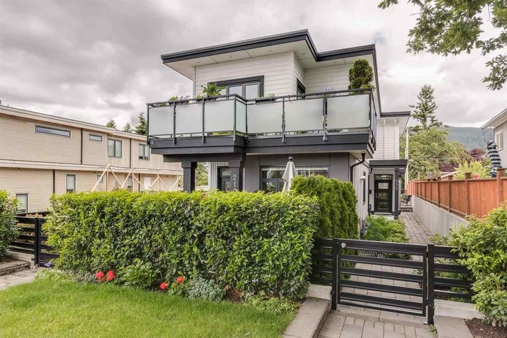 212 E 18TH STREET - Central Lonsdale 1/2 Duplex for sale, 3 Bedrooms (R2506437)