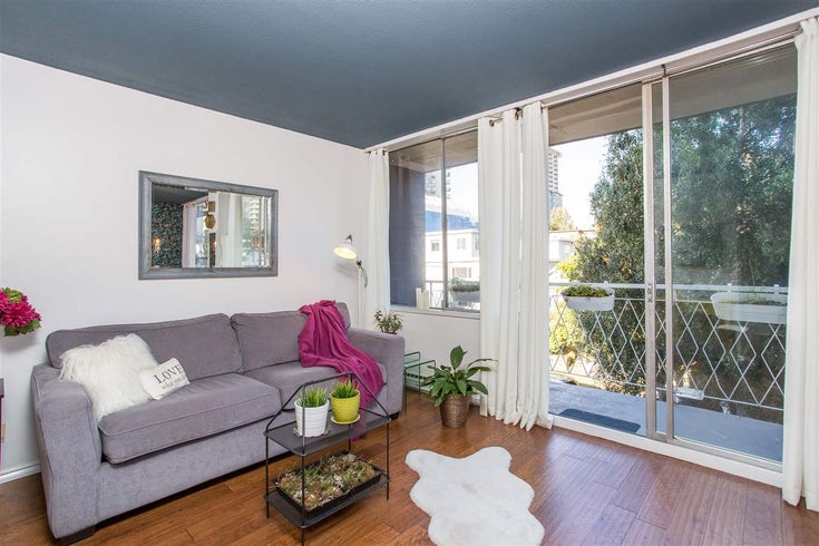 404 1100 HARWOOD STREET - West End VW Apartment/Condo for sale, 1 Bedroom (R2506984)