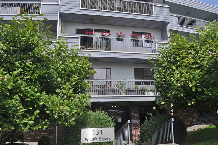 106 134 W 20TH STREET - Central Lonsdale Apartment/Condo for sale, 2 Bedrooms (R2507152)