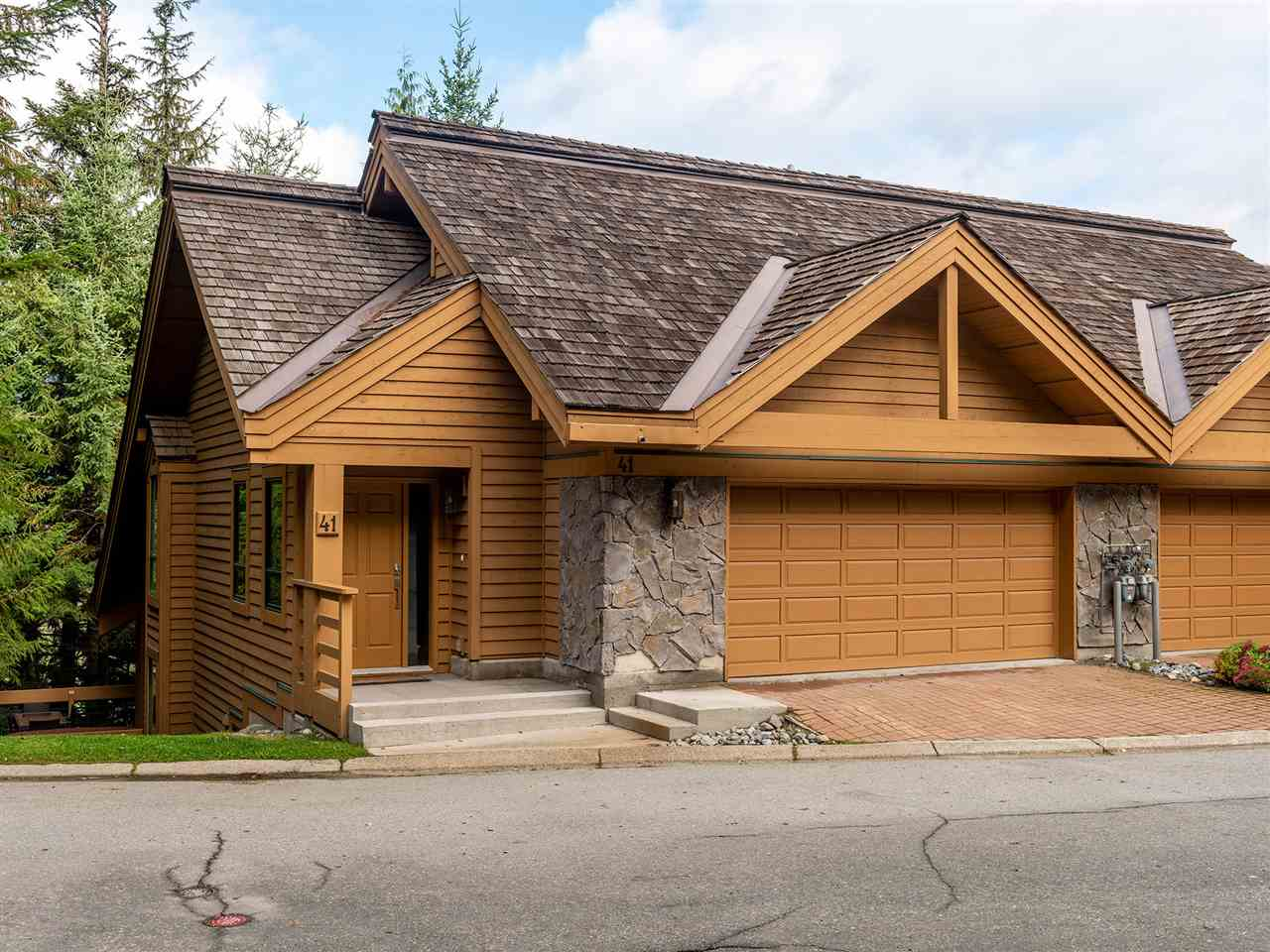 41 4150 TANTALUS DRIVE - Whistler Village Townhouse for sale, 5 Bedrooms (R2507499)