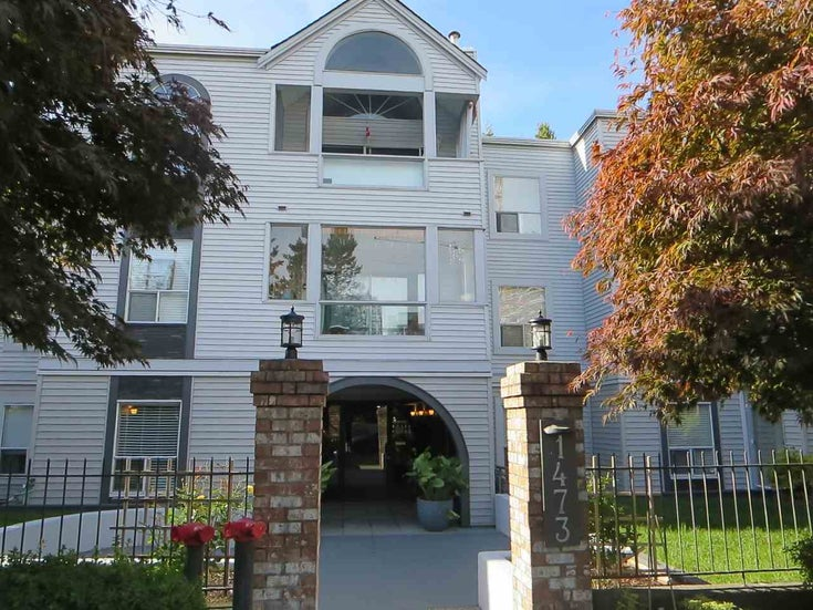 203 1473 BLACKWOOD STREET - White Rock Apartment/Condo for sale, 2 Bedrooms (R2507668)