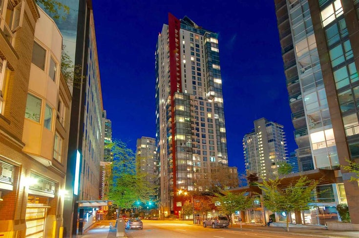 3105 1211 MELVILLE STREET - Coal Harbour Apartment/Condo for sale, 2 Bedrooms (R2507706)