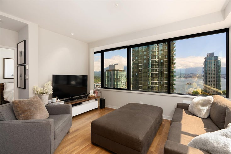1006 1333 W GEORGIA STREET - Coal Harbour Apartment/Condo for sale, 2 Bedrooms (R2507933)