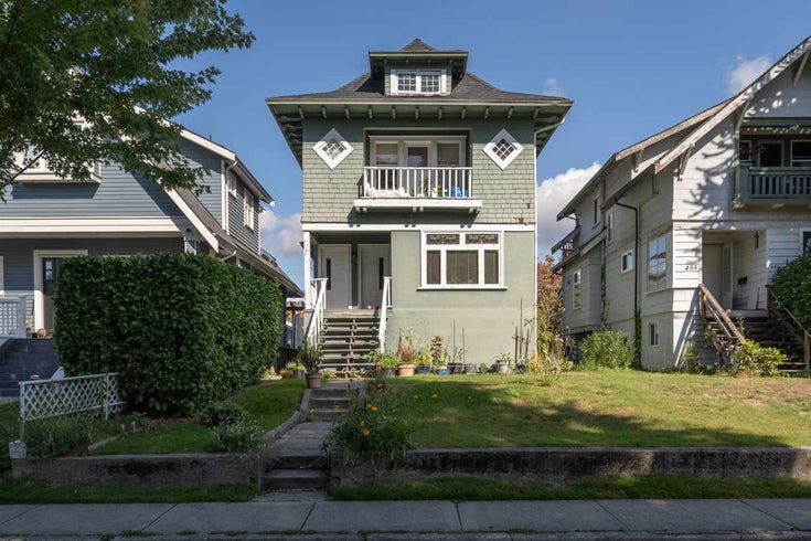461 W 19TH AVENUE - Cambie House/Single Family for sale, 6 Bedrooms (R2508147)