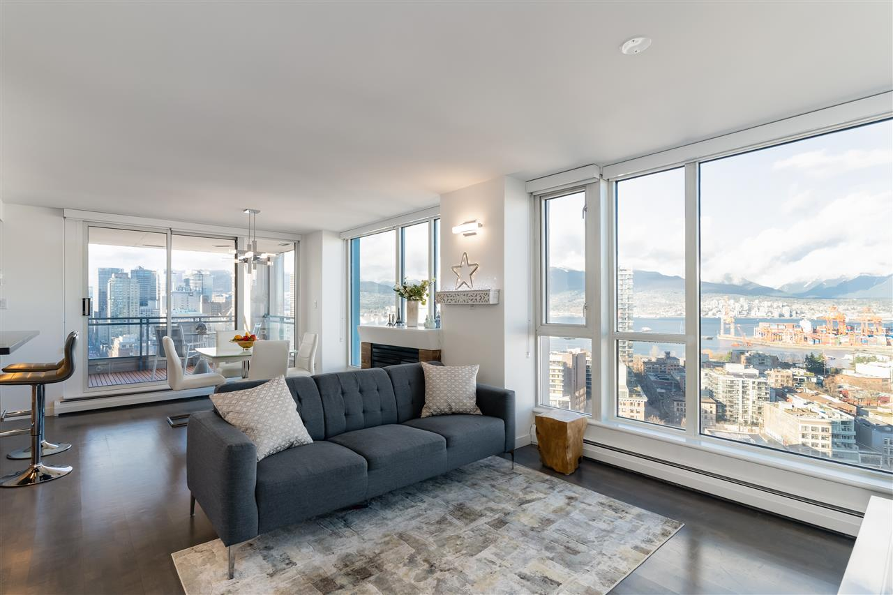 2502 183 KEEFER PLACE - Downtown VW Apartment/Condo for sale, 2 Bedrooms (R2508163) - #2