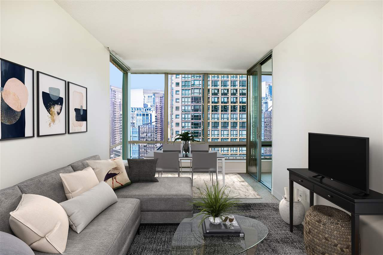 1408 1288 W GEORGIA STREET - West End VW Apartment/Condo for sale, 2 Bedrooms (R2508359) - #1