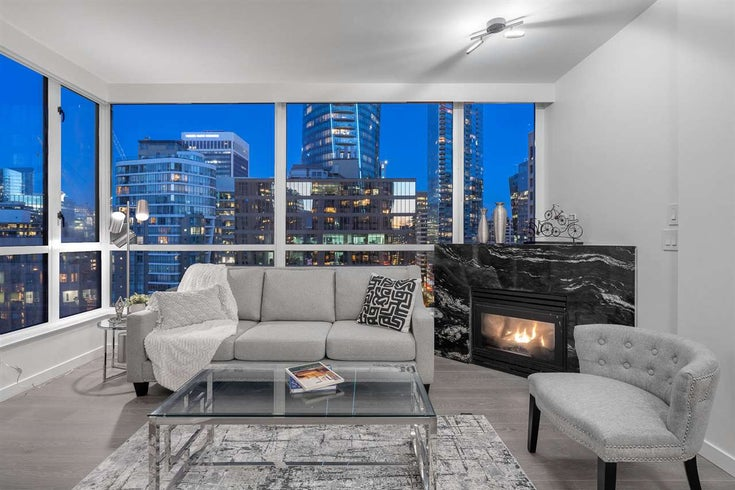 1901 1239 W GEORGIA STREET - Coal Harbour Apartment/Condo for sale, 1 Bedroom (R2508532)