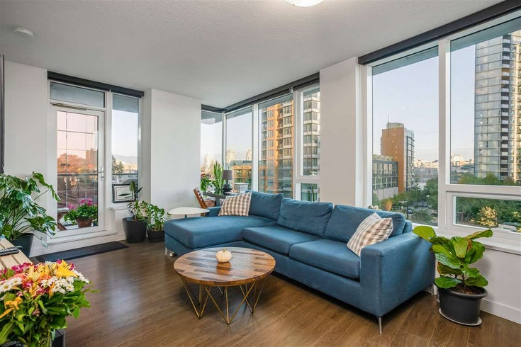 553 38 SMITHE STREET - Downtown VW Apartment/Condo for sale, 1 Bedroom (R2508747)
