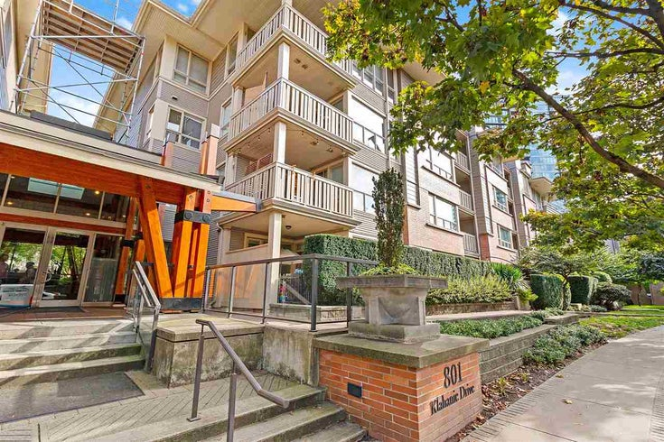 306 801 KLAHANIE DRIVE - Port Moody Centre Apartment/Condo for sale, 2 Bedrooms (R2509258)
