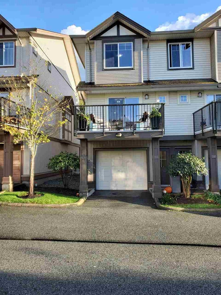 117 4401 BLAUSON BOULEVARD - Abbotsford East Townhouse for sale, 3 Bedrooms (R2509259)