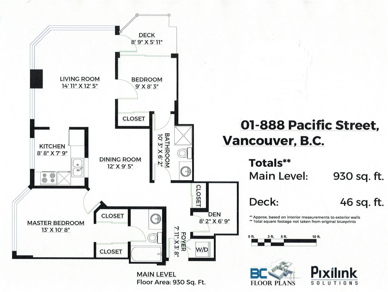 901 888 PACIFIC STREET - Yaletown Apartment/Condo for sale, 2 Bedrooms (R2509472) - #1