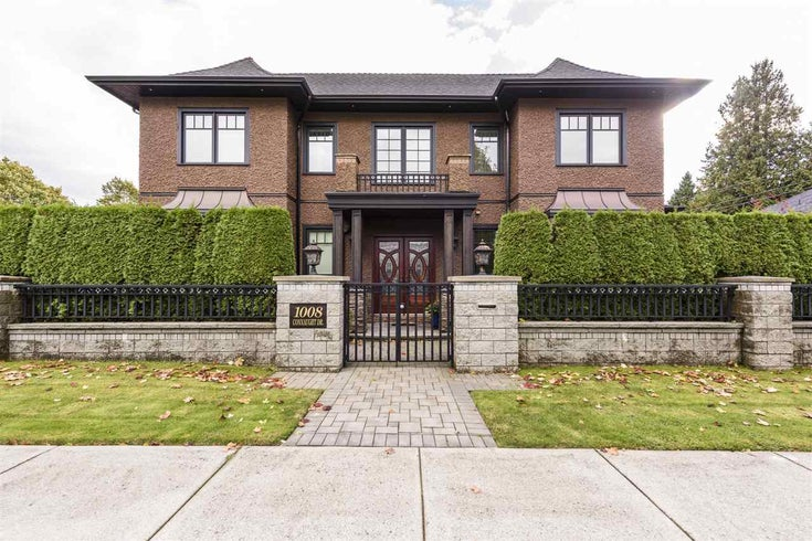 1008 CONNAUGHT DRIVE - Shaughnessy House/Single Family for sale, 5 Bedrooms (R2509700)
