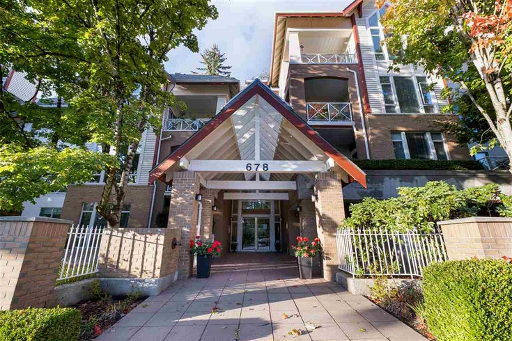 306 678 W QUEENS ROAD - Delbrook Apartment/Condo for sale, 2 Bedrooms (R2509906)