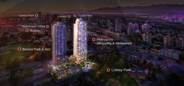 2910 6538 NELSON AVENUE - Metrotown Apartment/Condo for sale, 2 Bedrooms (R2509932)