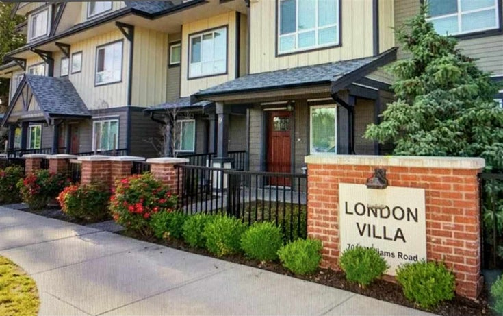 7 7011 WILLIAMS ROAD - Broadmoor Townhouse for sale, 3 Bedrooms (R2510061)