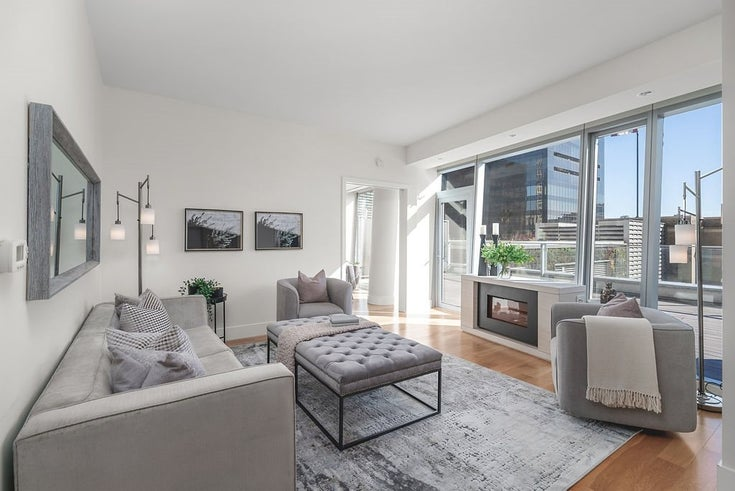 1401 667 HOWE STREET - Downtown VW Apartment/Condo for sale, 1 Bedroom (R2510203)