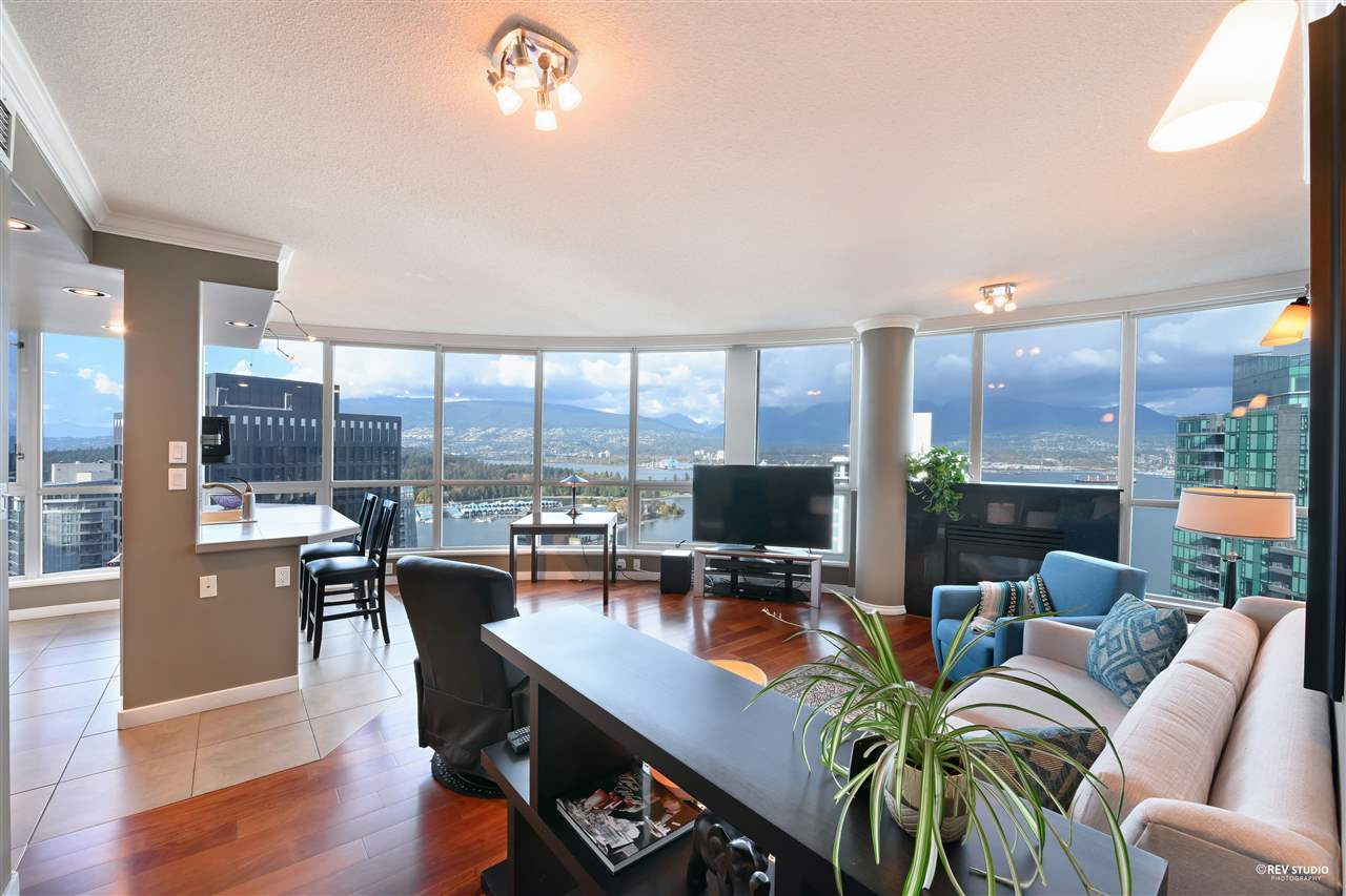 3306 1111 W PENDER STREET - Coal Harbour Apartment/Condo for sale, 2 Bedrooms (R2510687) - #1