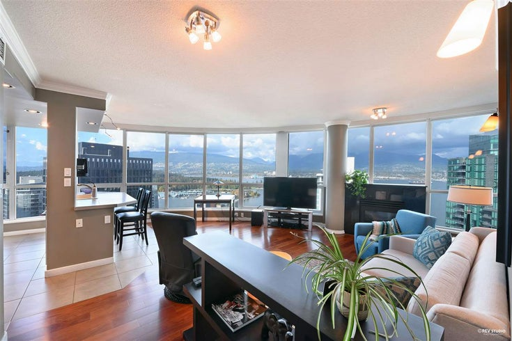 3306 1111 W PENDER STREET - Coal Harbour Apartment/Condo for sale, 2 Bedrooms (R2510687)