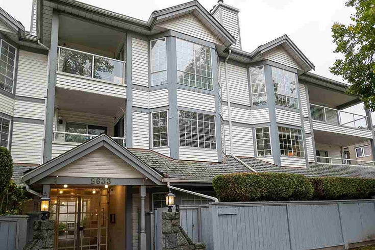 104 8633 SW MARINE DRIVE - Marpole Apartment/Condo for sale, 2 Bedrooms (R2510808)
