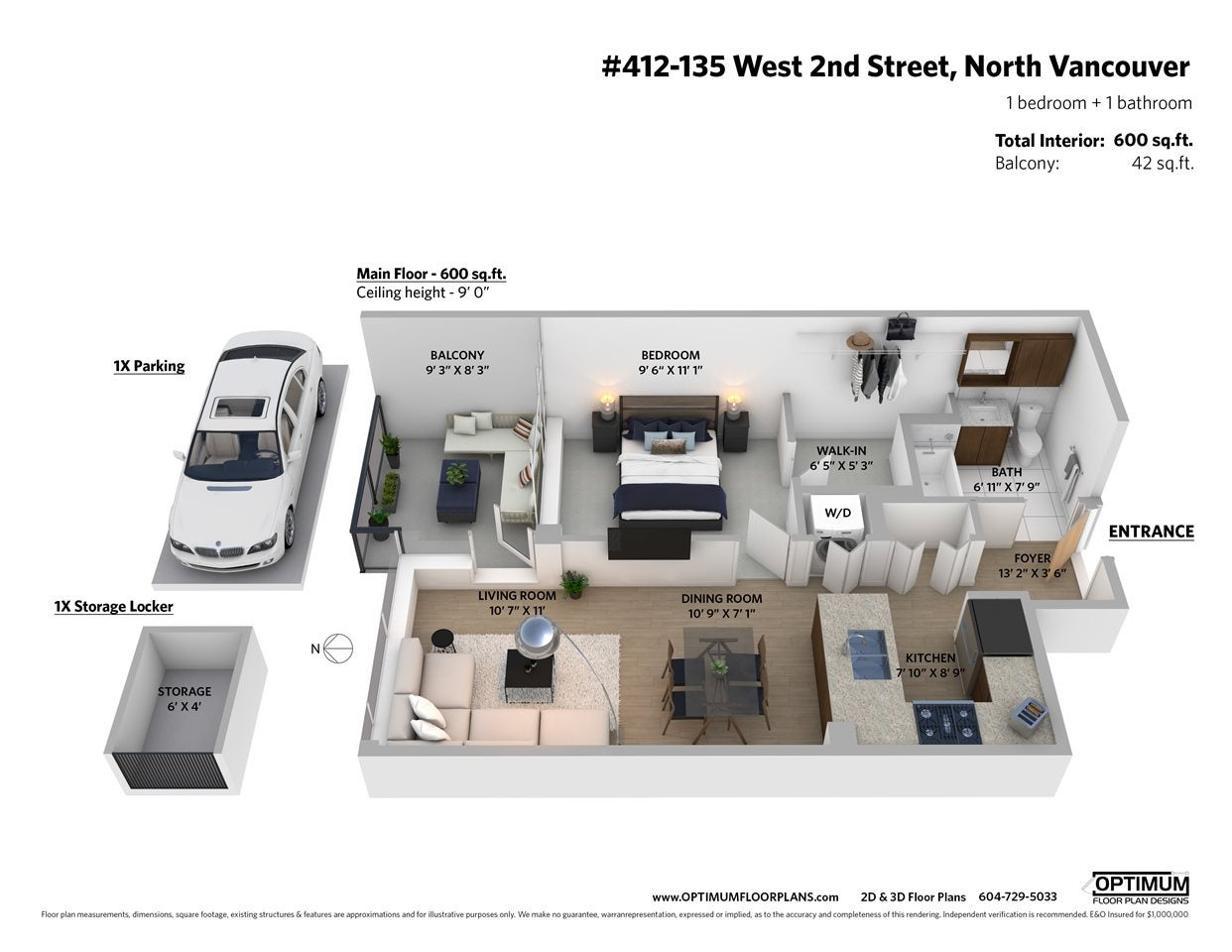 412 135 W 2ND STREET - Lower Lonsdale Apartment/Condo for sale, 1 Bedroom (R2510812) - #34