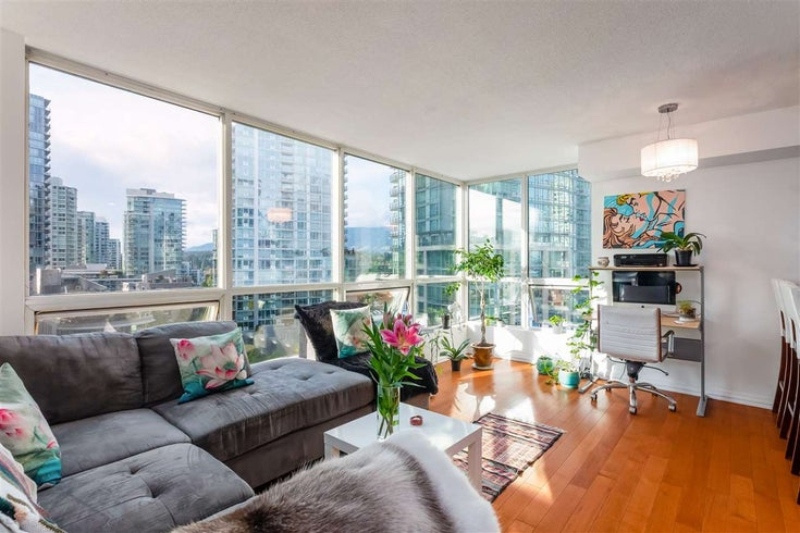 803 588 BROUGHTON STREET - Coal Harbour Apartment/Condo for sale, 1 Bedroom (R2511109)