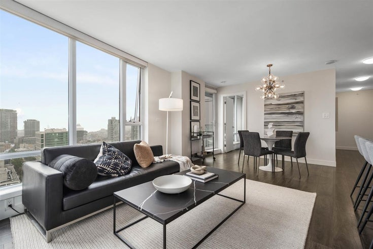 2802 233 ROBSON STREET - Downtown VW Apartment/Condo for sale, 2 Bedrooms (R2511313)