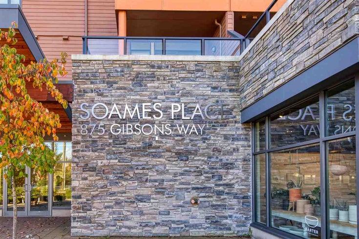 404 875 GIBSONS WAY - Gibsons & Area Apartment/Condo for sale, 2 Bedrooms (R2511351)