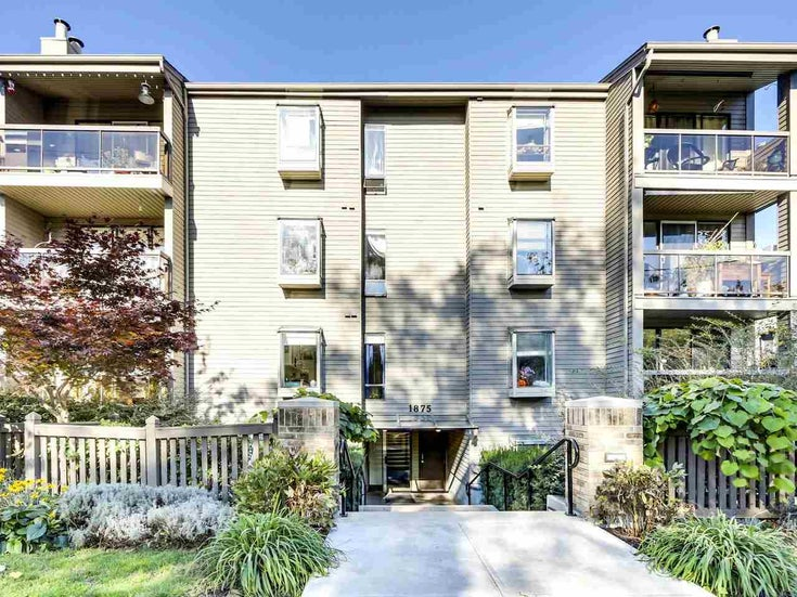 204 1875 W 8TH AVENUE - Kitsilano Apartment/Condo for sale, 2 Bedrooms (R2511589)