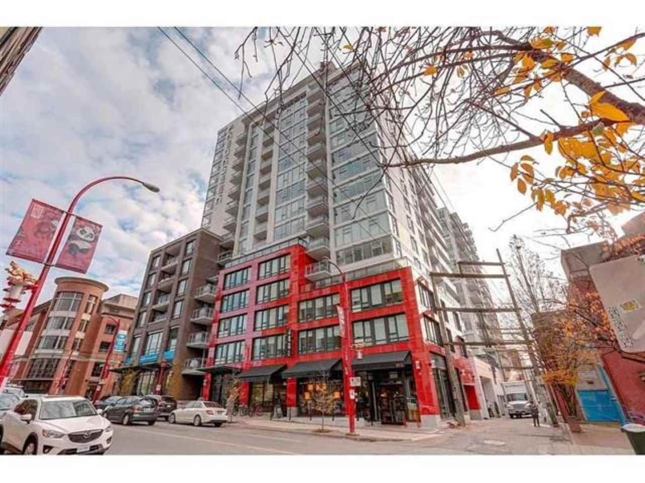 716 188 KEEFER STREET - Downtown VE Apartment/Condo for sale, 1 Bedroom (R2511640)