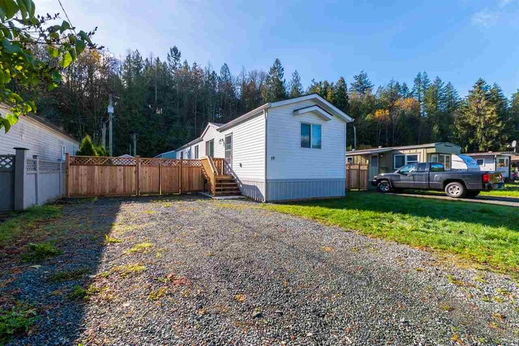18 3942 COLUMBIA VALLEY ROAD - Cultus Lake Manufactured for sale, 2 Bedrooms (R2511665)