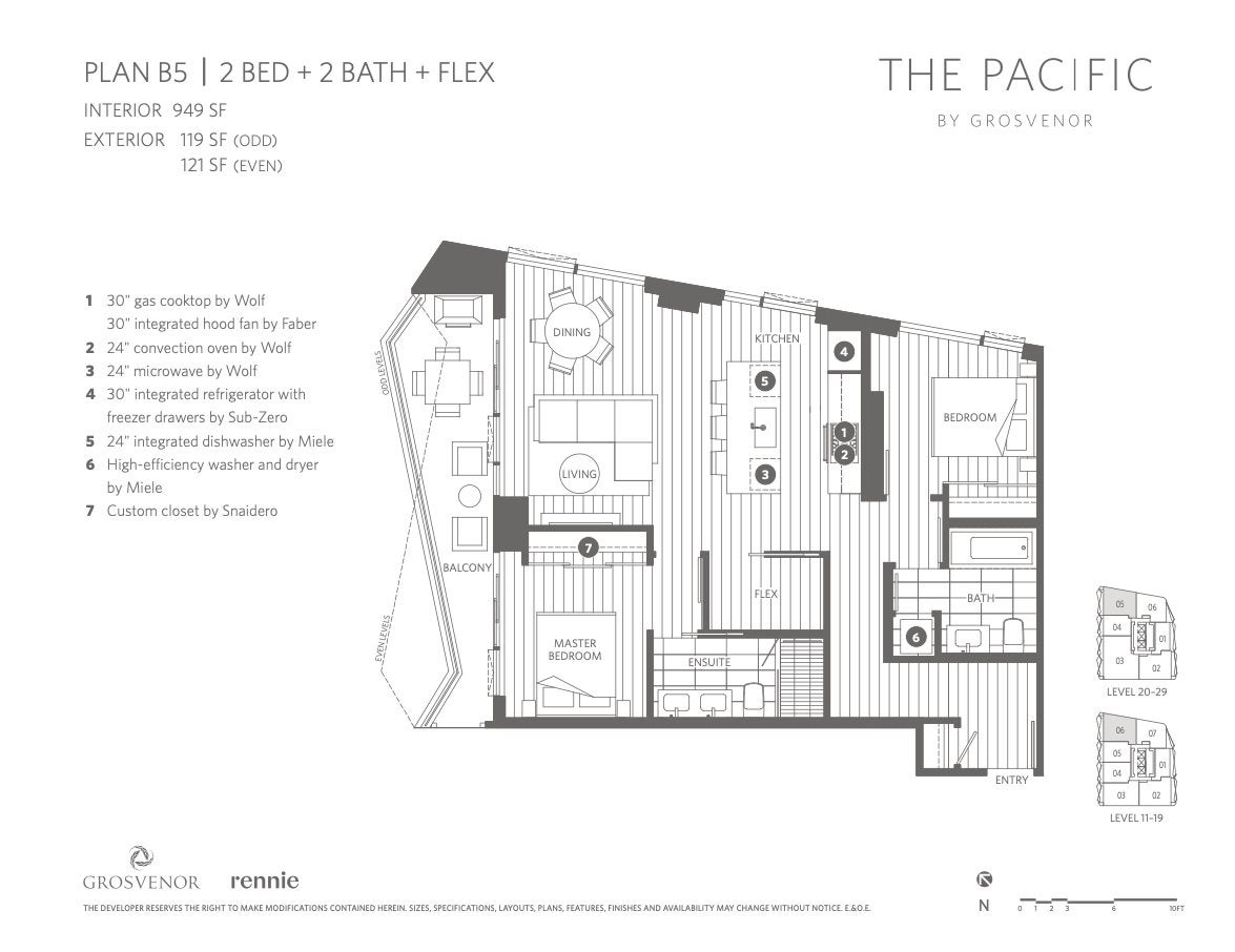 1206 889 PACIFIC STREET - Downtown VW Apartment/Condo for sale, 2 Bedrooms (R2511812) - #6