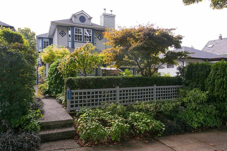 2146 W 14TH AVENUE - Kitsilano 1/2 Duplex for sale, 3 Bedrooms (R2511923)
