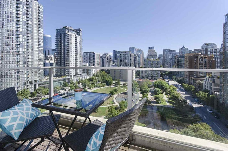 1402 1225 RICHARDS STREET - Downtown VW Apartment/Condo for sale, 2 Bedrooms (R2512140)