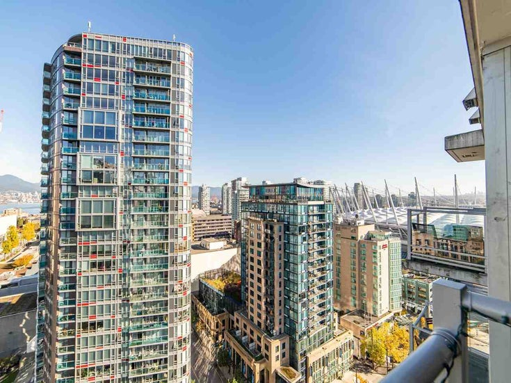 2003 821 CAMBIE STREET - Downtown VW Apartment/Condo for sale, 1 Bedroom (R2512191)